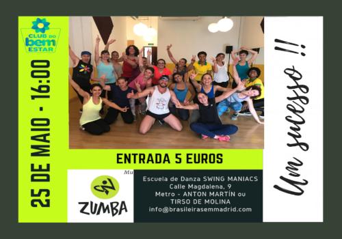 Arquivos Zumba Brasileiras Em Madrid
